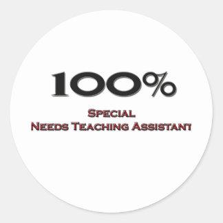 El Special del 100 por ciento necesita al profesor Pegatina Redonda