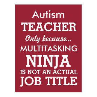 El Special divertido del autismo necesita al Postales