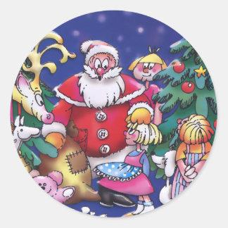 El Special embroma al pegatina del navidad