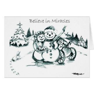 El Special necesita el muñeco de nieve de la famil Felicitacion