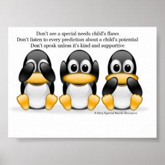 El Special necesita el poster del pingüino