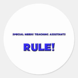 ¡El Special necesita regla de los profesores ayuda Etiquetas