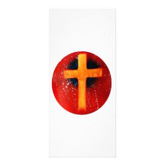 El spraypainting religioso de la parte posterior c tarjetas publicitarias personalizadas