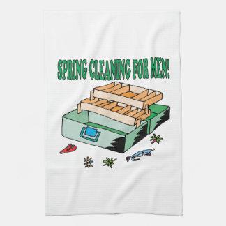 El Spring Cleaning para los hombres Toalla