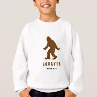 ¿el squatch, donde es él? playera