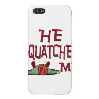Él Squatched yo iPhone 5 Coberturas