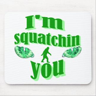 El squatching divertido alfombrilla de ratones