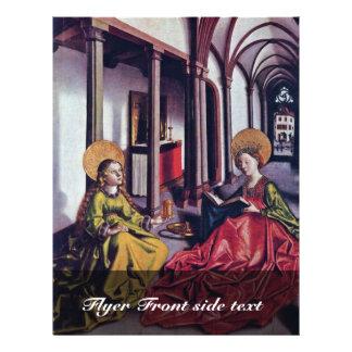 El St. Catherine y Maria Magdalena por nombre del  Flyer Personalizado