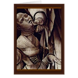 El St. Cyracus cura a la hija de Diocletian de GR Tarjeta De Felicitación