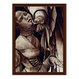 El St. Cyracus cura a la hija de Diocletian de GR Tarjetas Postales