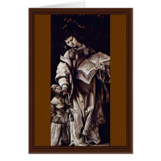 El St. Cyracus cura a la hija de Diocletian de Tarjeta De Felicitación