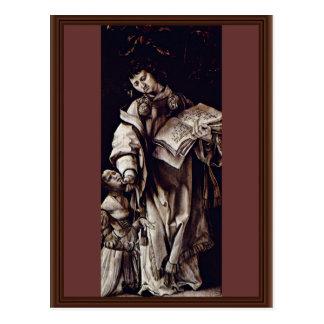 El St. Cyracus cura a la hija de Diocletian de Postales