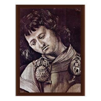 El St. Cyracus cura a la hija de Diocletian, Det Tarjetas Postales