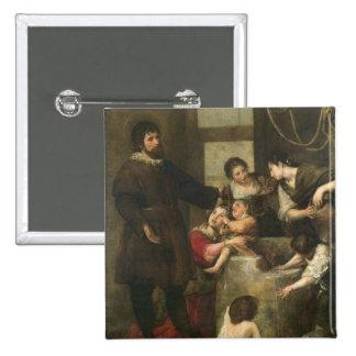 El St. Isidoro ahorra a un niño que había caído en Pin Cuadrada 5 Cm