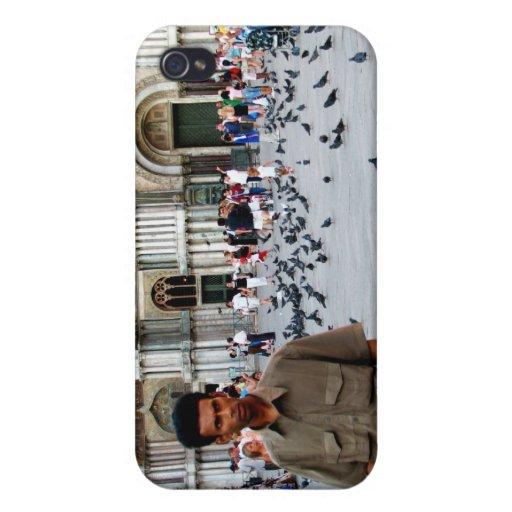 El St marca el cuadrado iPhone 4 Carcasas