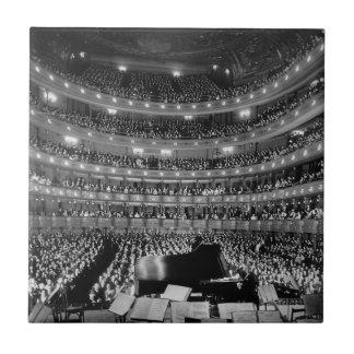 El St metropolitano anterior 1937 del teatro de la Azulejos Cerámicos