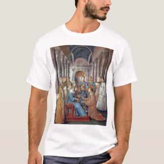 El St. Sixtus ordena St. Lorenzo Playera