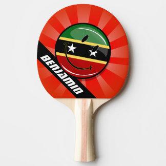 El St. sonriente San Cristobal y Nevis señala por Pala De Ping Pong