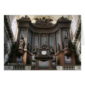 El St Sulpice le agradece Tarjeta Pequeña