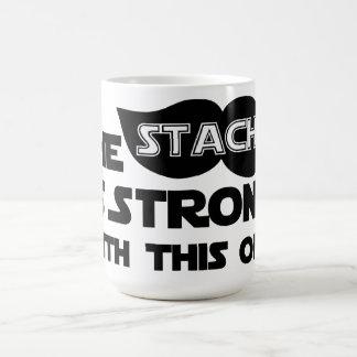El Stache es fuerte con éste Tazas De Café