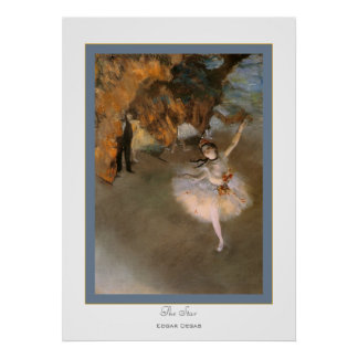 El Star~ Edgar Degas Posters