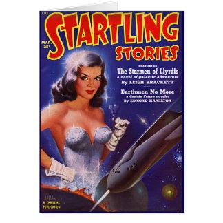 El Starmen de Llyrdis Tarjeta De Felicitación