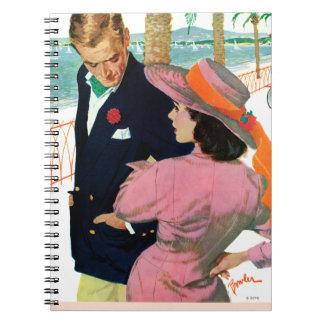 El Stategy del amor Spiral Notebooks