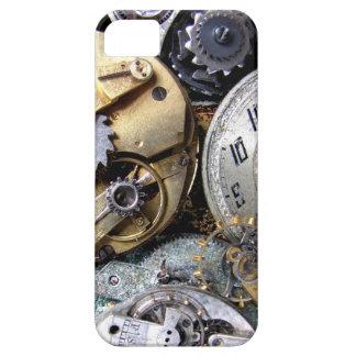 El steampunk del vintage adapta el caso del funda para iPhone SE/5/5s