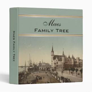"""El Steen, árbol de familia de Amberes, Bélgica Carpeta 1"""""""