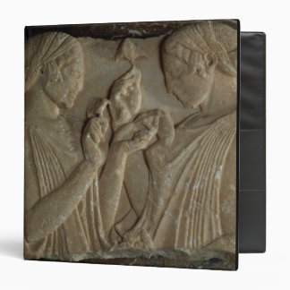 El Stele de Pharsalos que representa la