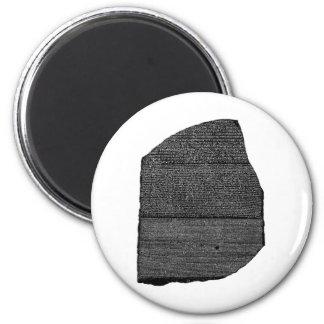 El Stele egipcio de la granodiorita de la piedra d Imán Redondo 5 Cm