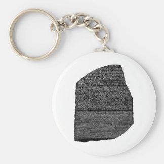 El Stele egipcio de la granodiorita de la piedra Llavero Redondo Tipo Pin