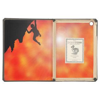 el subir a través de la caja del folio del aire de