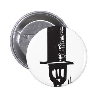 El subir al sombrero de copa pins