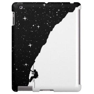 El subir de la noche funda para iPad