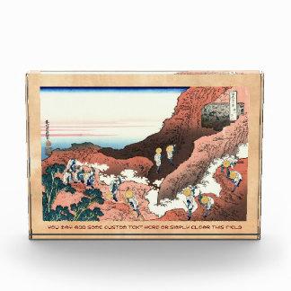 El subir en el monte Fuji Katsushika Hokusai