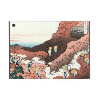 El subir en el monte Fuji Katsushika Hokusai iPad Mini Carcasas