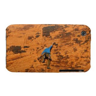 El subir en rocas rojas carcasa para iPhone 3
