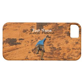 El subir en rocas rojas; Personalizable Funda Para iPhone SE/5/5s