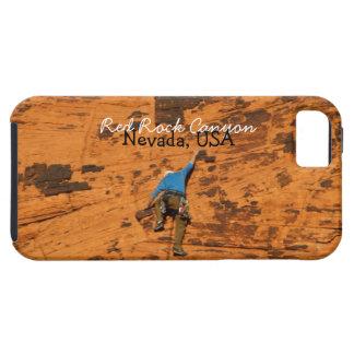 El subir en rocas rojas; Recuerdo de Nevada Funda Para iPhone SE/5/5s