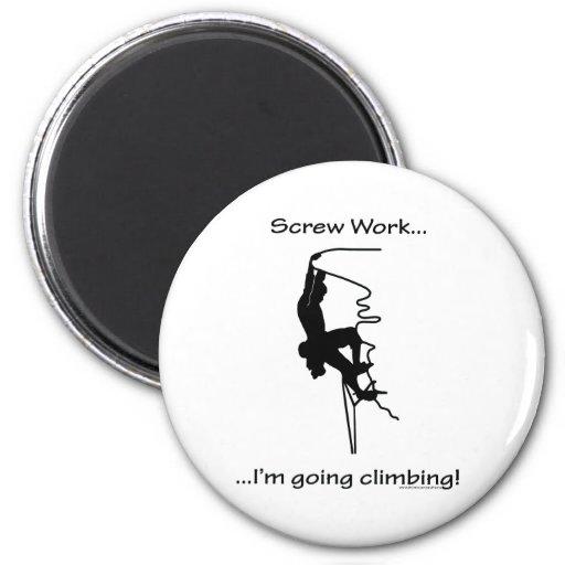 El subir que va del trabajo del tornillo… imán redondo 5 cm