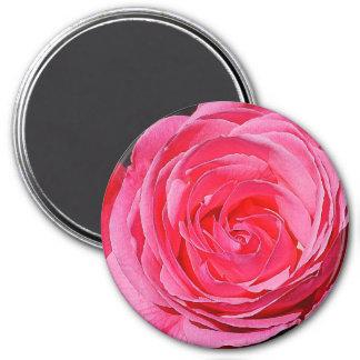 El subir rosado subió imán redondo 7 cm