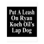 El subordinado malvado del aceite de Paul Ryan Koc Tarjetas Postales