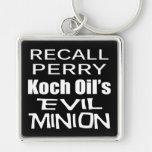 El subordinado malvado del aceite de Rick Perry Ko Llaveros Personalizados