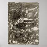 El Sudarium sostenido por un ángel por Dürer Impresiones