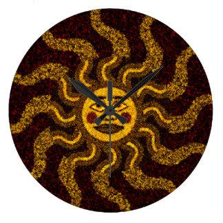 El sudoeste Sun tribal hace frente al reloj de
