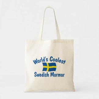 El sueco más fresco Mormor Bolsa Tela Barata