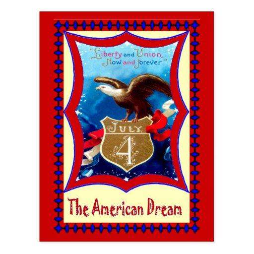 El sueño americano, Eagle calvo Tarjeta Postal