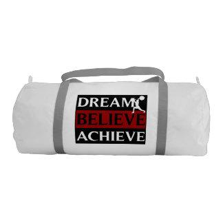 El sueño cree alcanza al Weightlifter Bolsa De Deporte