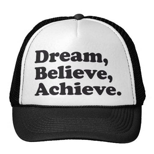 El sueño cree alcanza gorros